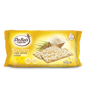 Crackers com Arroz Tufado 240g